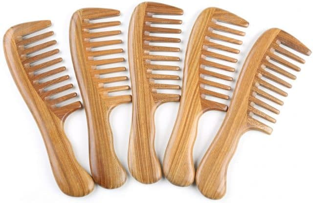 Breezelike Wide Tooth Wood Comb