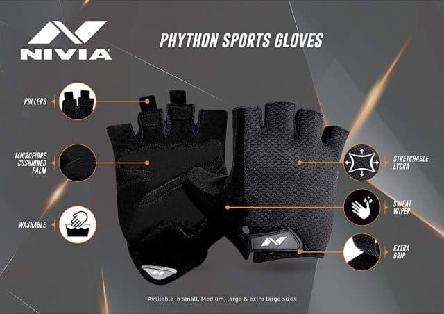 Nivia python sports gloves