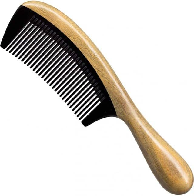 Simgin Comb set- wide tooth wooden combs