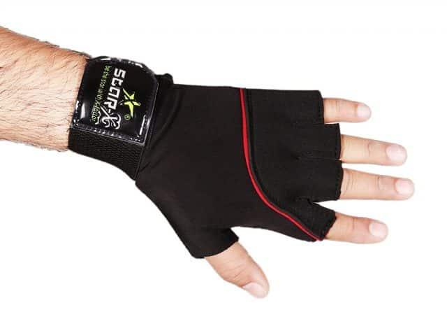 Star X GG-LN-700 Neoprene and Lycra Gym Gloves